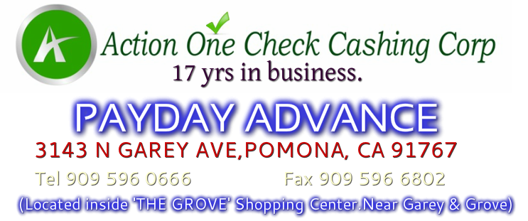Payday advance,payday loan,check cashing,western union,cash advance,money transfer,cash check,mail box,money order,tax preparation,mail box rentals,notary public,pay your bills,EBT.